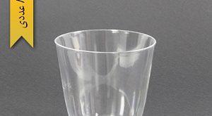لیوان یکبار مصرف شیشه ای