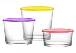 خرید ظروف یکبار مصرف شیشه ای